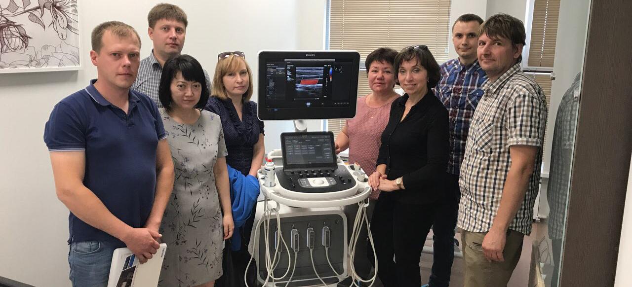 В медицинском центре «ТОНУС ЛАЙФ» появилась инновационная ультразвуковая система премиум класса Philips EPIQ 7.